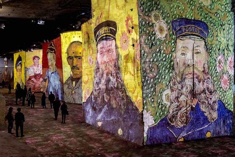 Van Gogh to discover in the Carrières de Lumières